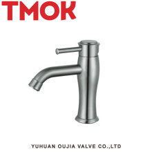 NEW 304 stainless steel satin Brushed bathroom Sink Mixer Tap Faucet.