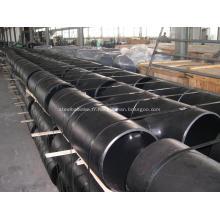 Raccords de tuyauterie en té égaux en acier au carbone