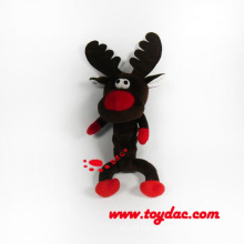 Plush Holiday Toy Reindeer for Dog Toy