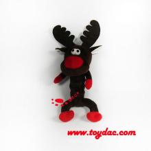 Плюшевые игрушки праздника оленя для собаки игрушки