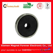 Ceramic Ferrite Cylinder Magnets, Round Magnets, Industrial Magnet, Permanent Magnet,