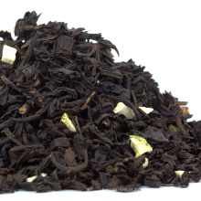 Venda quente Private Label Clássica Melhor Benefícios de Saúde Da Marca Folha Solta de Sabor Deco Bergamota Earl Chá Preto Cinza
