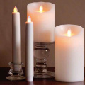 flameless ivory Luminara lilin lilin
