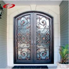 Double Wrought Iron Doors