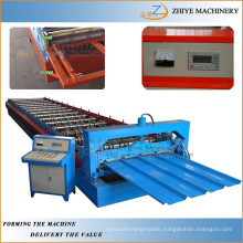 Iron Corrugating Aluminum Trapezoidal Galvanized Roofing Panels Roll Forming Machine