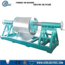 Rodillo de aluminio de la hoja de la cubierta que forma la máquina con el Uncoiler, Decoiler de la hoja del metal para la venta