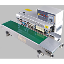 Automatic Sealing Machine /continuous  band  bag sealer with ink