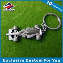 Custom 3D Mold Car Shape Keychain Fancy Metal Keychain with Keyring