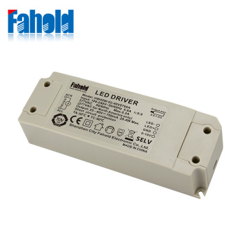 Plastic Case 0-10V Dimmable LED Driver 45W