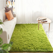 modern design hairy wall to wall carpet for living room