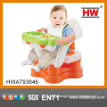 2015 New Design Plastic 4 In 1 Baby Dining Table And Chair
