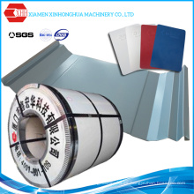 Hoja de cubierta de acero para materiales de construcción (PPGI)