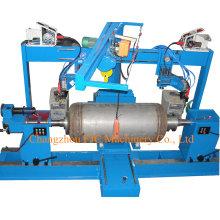 Máquina de soldadura circunferencial de la costura de las antorchas dobles horizontales