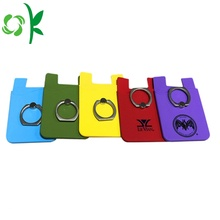 Silicone Card Holder Wallet Phone Custom Phone Holder