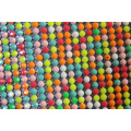 Resin mix color aluminum rhinestone mesh 45*120