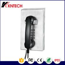 Teléfono de emergencia de acero inoxidable Knzd-10 Prison Phone Kntech