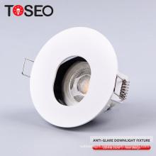 12v halogen 50w mr16 aluminium halogen anti glare ceilling light anti glare recessed led down light