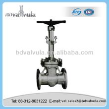 Válvula de compuerta cuniforme de vástago ascendente motorizado