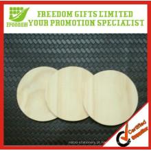 Coasters de madeira maciça de venda quente de alta qualidade