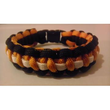 Nouveau style bracelet en plastique bukle 550 paracord