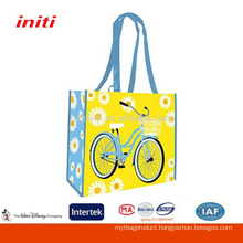 2016 OEM Gold Laminated Nonwoven Bag for Promotion