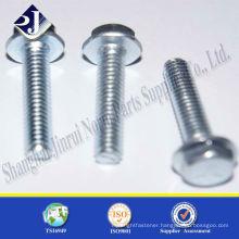 DIN 6921 titanium flange bolt grade 8.8