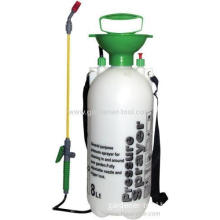 Plastic 8l Agriculture Sprayer With Pvc Hose And Plastic Lance.