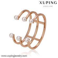 51696 xuping liga de cobre jóias Moda Shell pulseira de contas
