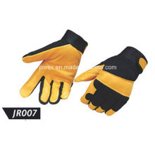 Promotional Pigskin Leather Mechanics Working Safe Protect Glove