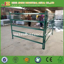 Green Powder Coated Metal Livestock Fence Panel Horse Fence Panel Cattle Yard