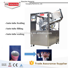 Máquina automática de llenado y sellado de mangueras, mangueras y tubos HX