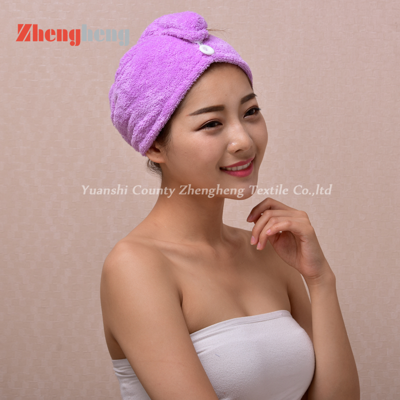 Coral Fleece Hair Cap (2)