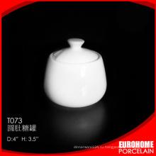 Купить оптом из Китая 4 дюймовый дешевые тонкого фарфора Сахар горшка
