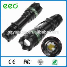 Taktische Taschenlampe, Taschenlampe LEDs, LED Taschenlampe Fackel Wiederaufladbare Taschenlampe Fackel