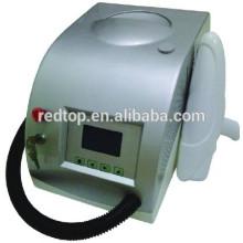 2015 bester Verkauf preiswerter ND yag Laser-Tätowierungentfernungsmaschine Ausrüstung