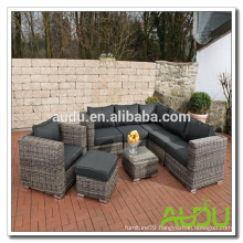 Audu Classical Round Rattan Sofa Furniture Living Room Luxury
