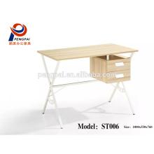 Modern designs executive desk , wooden executive steel with melamine office desk