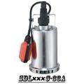 (SDL400C-33A) Aço inoxidável bomba submersível para água de chuva, água do mar, álcool