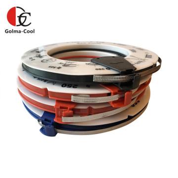 Abrazaderas de clip de manguera de acero galvanizado y acero inoxidable