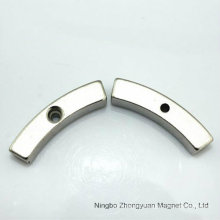 Custom Arc Segment NdFeB Neodymium Magnet of Competitive Price