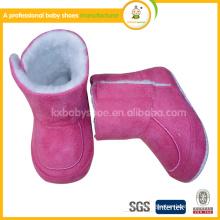 New Korean children warm padded baby boy boots winter snow boots wool boot shoe