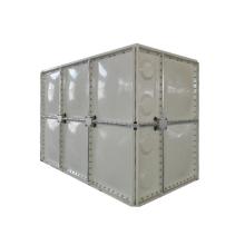Réservoir d'eau en panneau de montage sectionnel en fibre de verre FRP