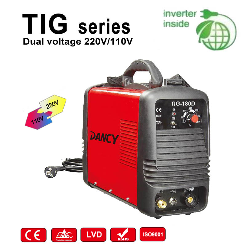 Dual voltage tig welder
