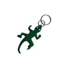 Aluminum Lizard shaped Bottle Opener Keychain