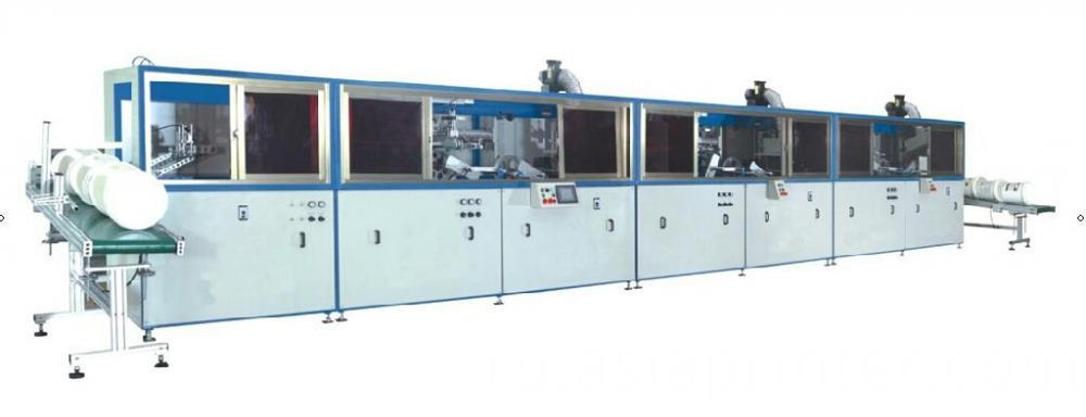Multi Color Automatic Screen Printing Machine For Large