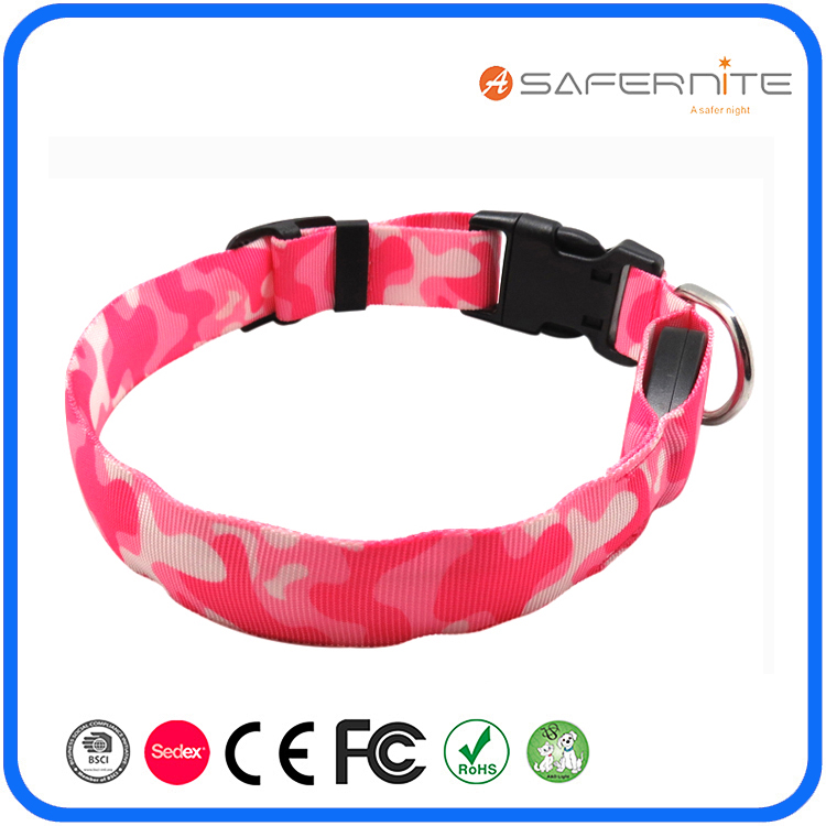 Usb Glow In Dark Led Fancy Dog Collars