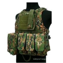 Airsoft Tactical Military Molle Combat Assault Plate Carrier Vest Tactical vest