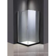 Porte de douche en verre bon marché