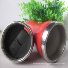 Stainless Steel & Plastic Coffee Mug (CL1C-E76)