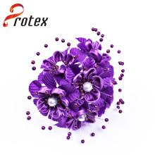 Popular Beautiful Elegant Purple Cheap Artificial Flor Ornament
